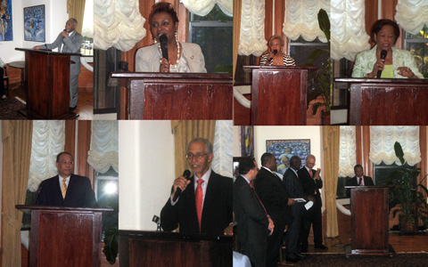 Official Launch of the CRPC (Embassy of Trinidad & Tobago, Washington, DC)