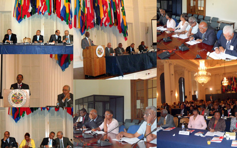 Caribbean Diaspora Conference on Haiti's Reconstruction & Development (OAS, Washington DC)